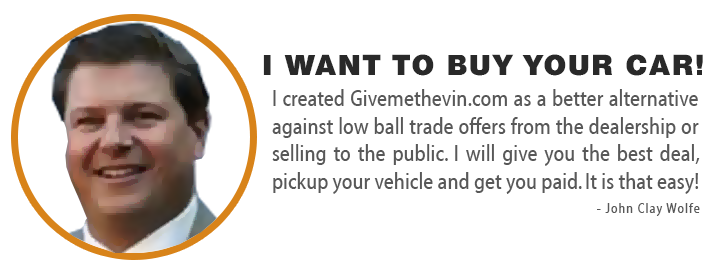 I want to buy your car!